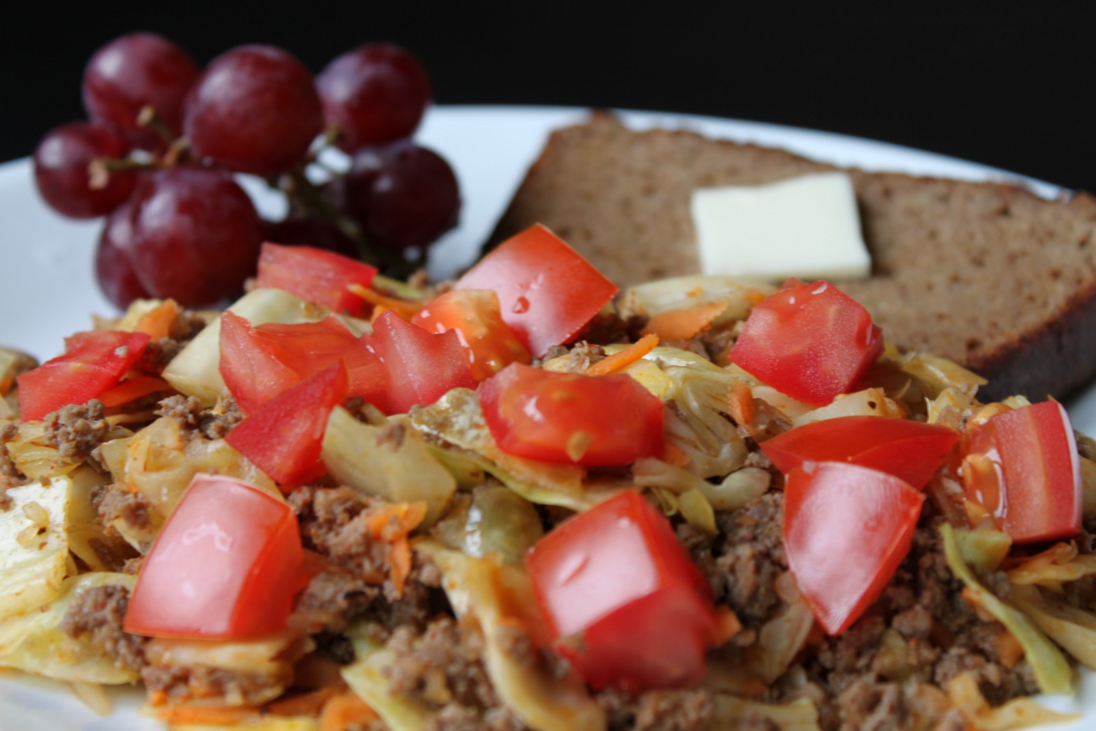 Taco Beef Cabbage Stir-Fry