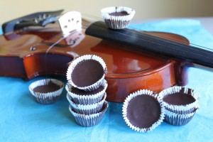 Dark Chocolate Almond Butter Cups