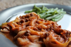 Grain-Free Hamburger Hotdish with Zucchini