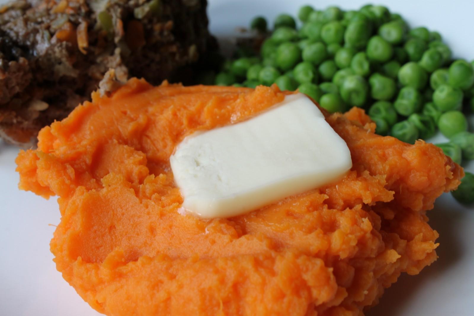 Mashed Sweet Potatoes (Yams)