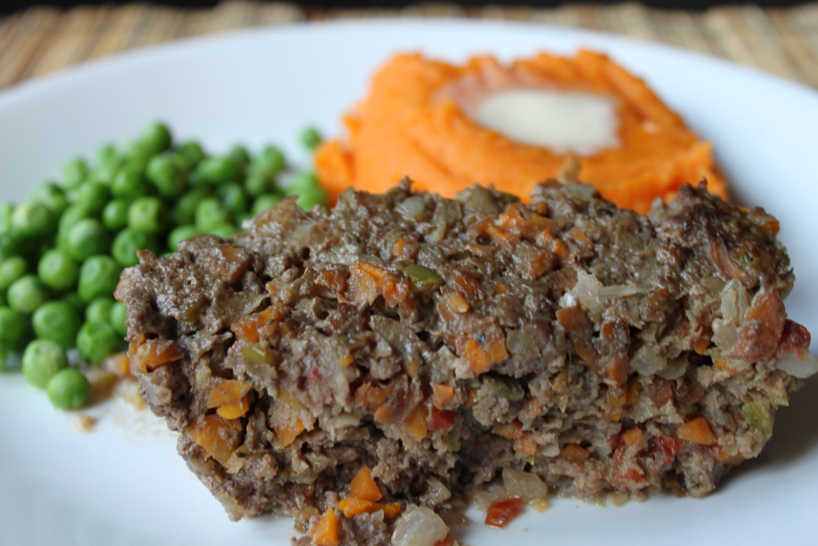 Meatloaf (with veggies)