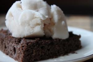 Paleo Coconut Flour Brownies (with secret ingredient–zucchini!)