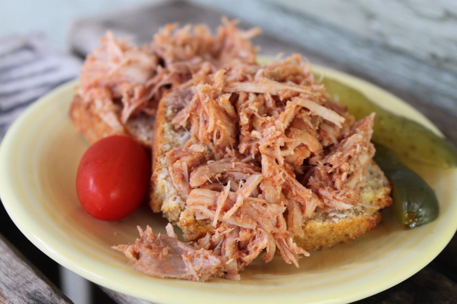 Pulled Pork BBQ Sandwiches