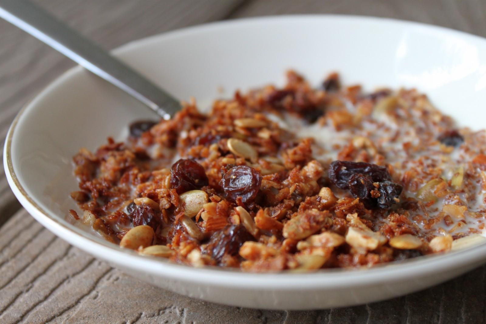 Raisin Nut Crunch Cereal