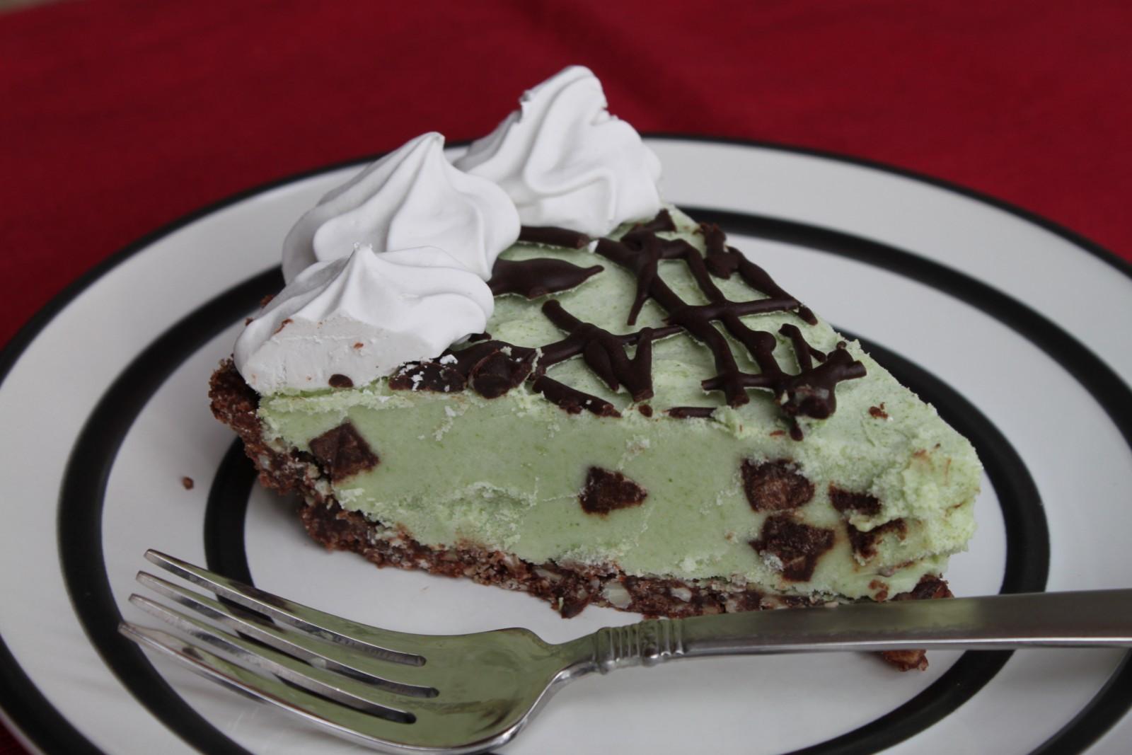 Grasshopper Pie (Grain-free, Dairy-free!!)