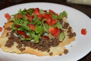 "Tacos with ""Paleo Tortillas"""