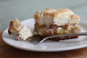 Darlene's Rhubarb Dessert