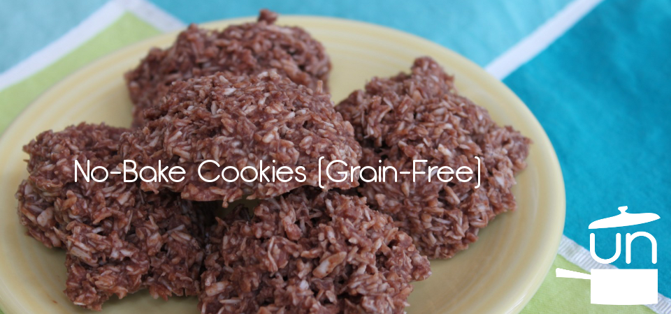 No-Bake Cookies (Paleo)