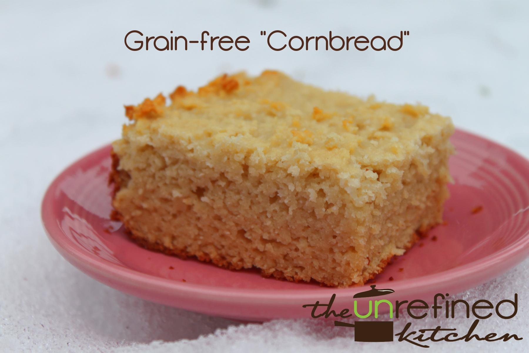 """Grain-free """"Cornbread"""""""
