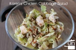 Karen's Chicken Cabbage Salad
