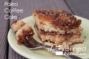 Paleo Coffe Cake