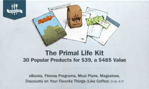 Primal Life Kit: $485 worth of products and discounts for $39!!