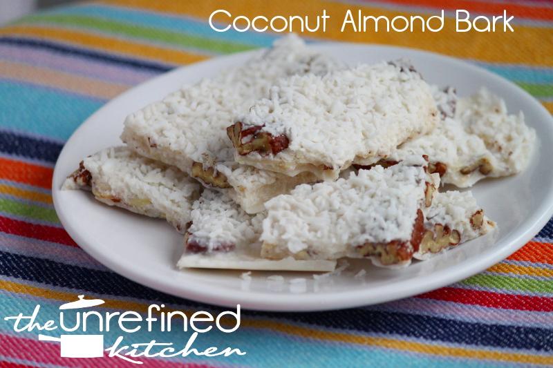 Coconut Almond Bark