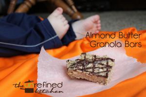 Almond Butter Granola Bars 2
