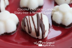 Coconut Chocolate Candies