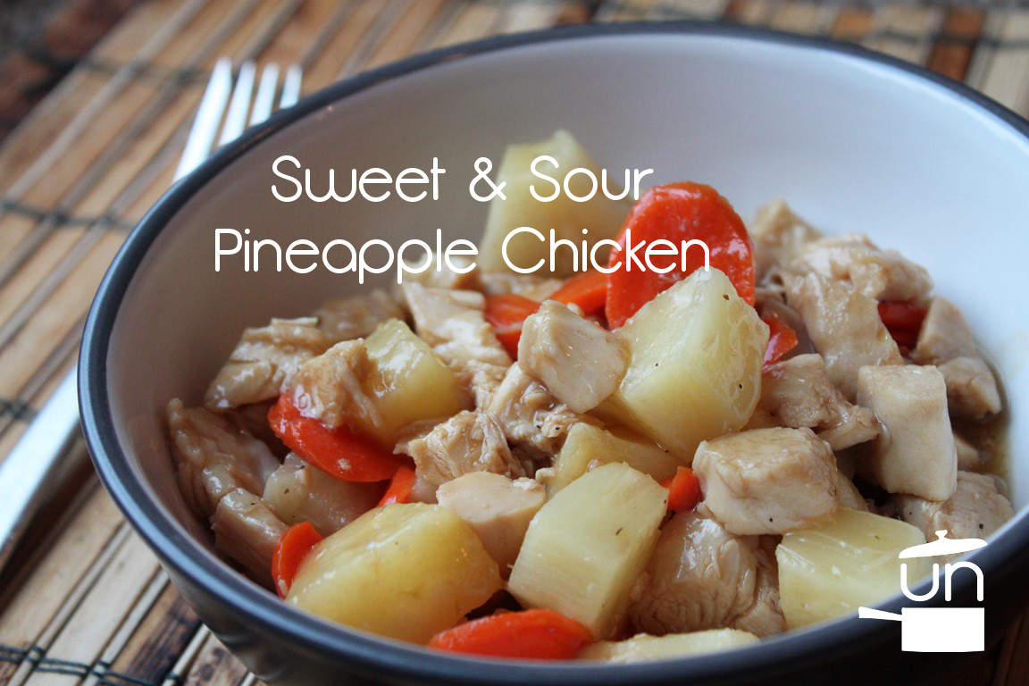 Sweet and Sour Pineapple Chicken