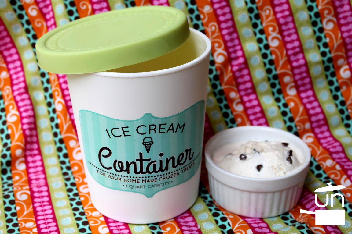 Mint Chocolate Chip Ice Cream (with essential oils)